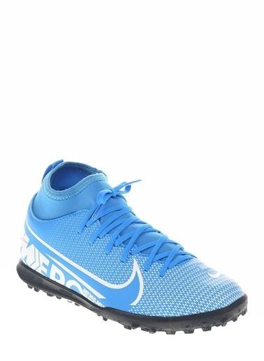 Nike At8156-41 Nike Çocuk Jr. Mercurial Superfly 7 Club Mavi